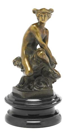 A Herme's/Mercury mascot, c. 1920-25