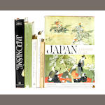 JAPANESE ART.  30 volumes on Japanese art, prints, and collectibles, 20th century,