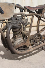 c.1929 Harley Davidson 30ci Peashooter Engine no. 30CA 505