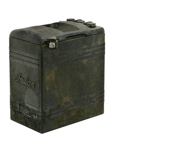 An original Indian battery case,