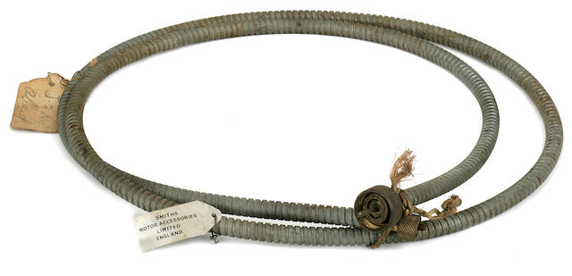 A speedometer cable for a Smiths speedometer,