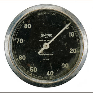 A Smiths Chronometric tachometer,