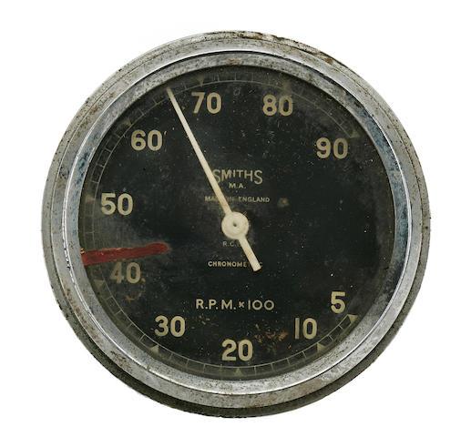A Smiths Chronometric tachometer,