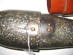Two lacquer decorated sword cases 19th century