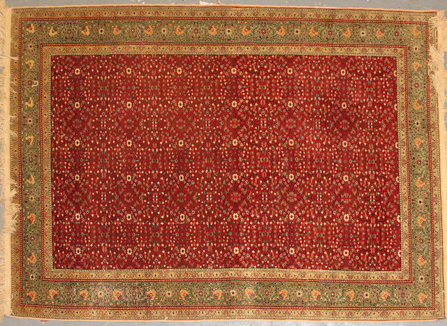 A Sivas rug size approximately 5ft. x 7ft. 1in.