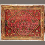 A Sarouk rug  size approximately 2ft. x 2ft. 6in.
