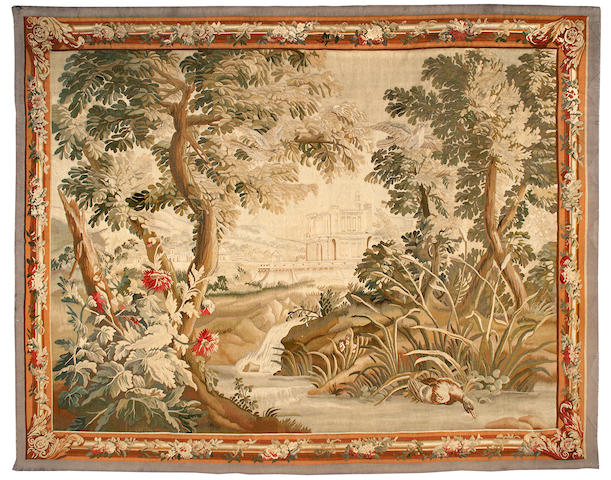 A French tapestry<BR />probably Gobelins, 19th century