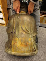 A large cast bronze seated figure of the Amitabha Buddha Ming dynasty