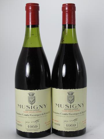 Musigny, Cuvee Vieilles Vignes, Comte de Vogüé 1959 (7)