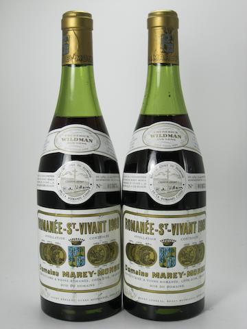 Romanée-St-Vivant, Marey Monge, DRC 1969 (5)