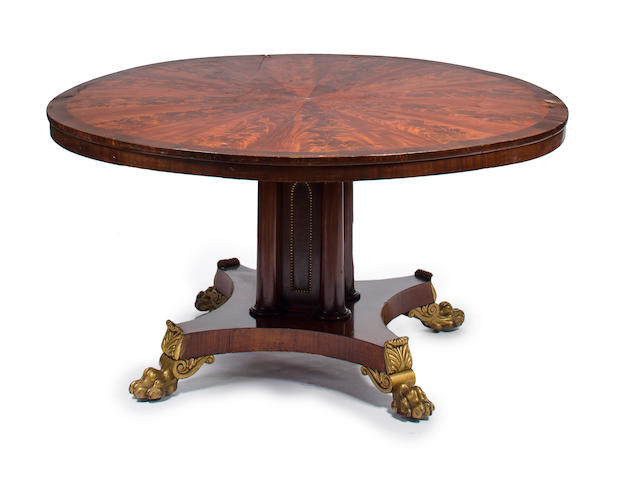 rosewood circular table