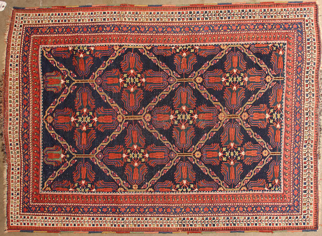 An Afshar rug size approximately 4ft. 3in. x 5ft. 10in.