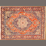 A Tabriz rug  size approximately 4ft. 5in. x 5ft. 11in.