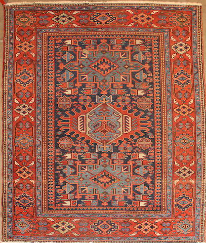 A Karadja rug  size approximately 5ft. x 6ft.