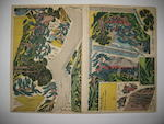 Two woodblock print albums 19th century