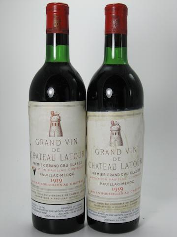 Château Latour 1959 (2)