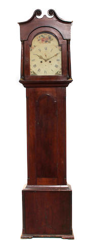 A George IV mahogany tall case clock