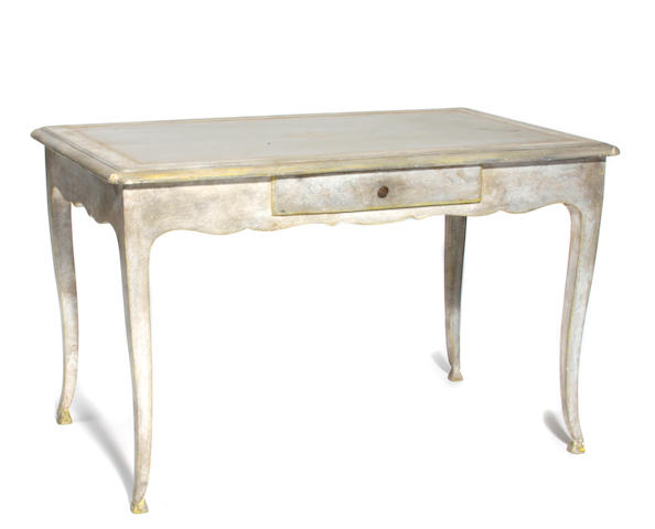 An Italian Rococo style paint decorated table