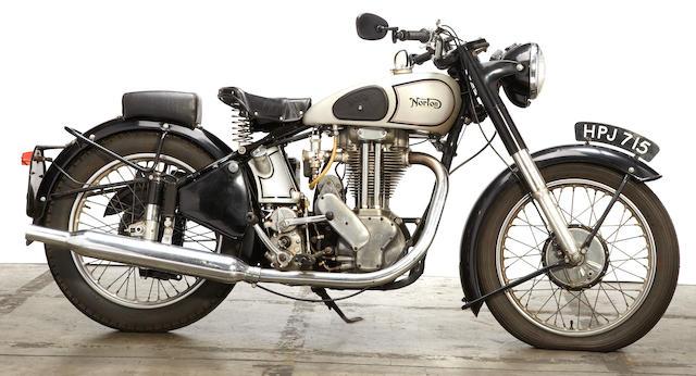 c. 1949 Norton ES2 Frame no. 102304 Engine no. 74613