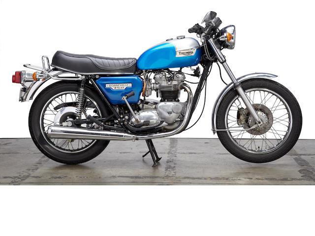 1979 Triumph T140 750cc Bonneville Frame no. T140EKA13055 Engine no. T140EKA13055