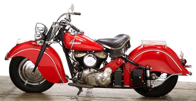 1947 Indian Chief Engine no. CDG6156 B
