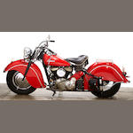 1947 Indian Chief Engine no. CDG6156 B