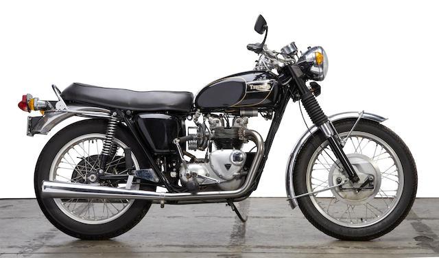 c. 1972 Triumph T100R Frame no. T100REG57795 Engine no. T100REG57795