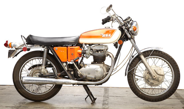 1971 BSA 750 A70 Lightning Frame no. A70L/HE01128 Engine no. A70L/HE01128