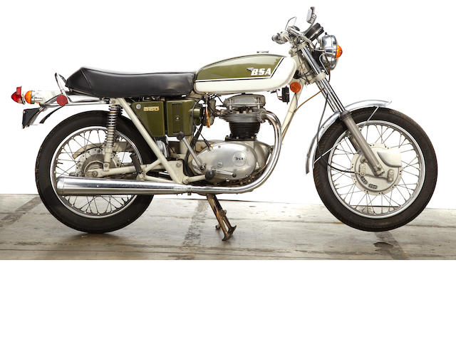 1971 BSA 650 A65 Thunderbolt Frame no. CE02373A65 Engine no. CE05029 A65T