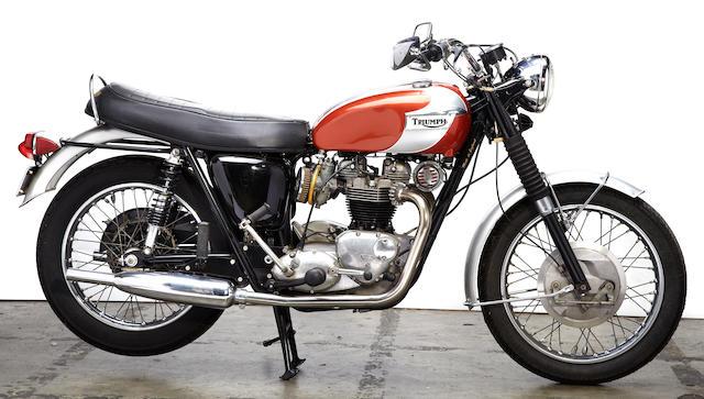 1969 Triumph T120R Frame no. T120R DU85947 Engine no. T120R DU85947