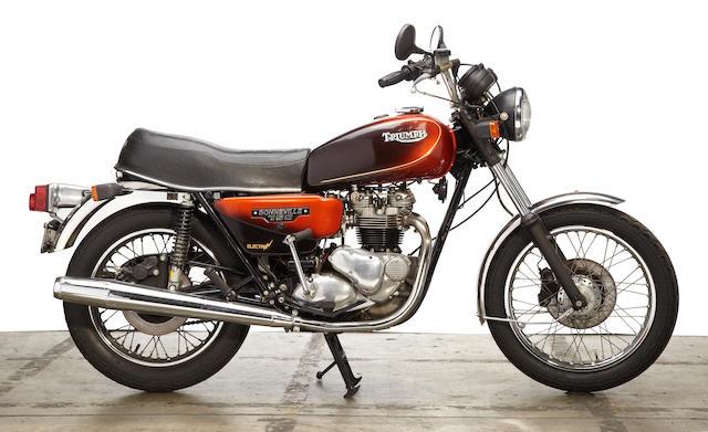 1982 Triumph 750 Bonneville Frame no. SCGB75500CM 030975 Engine no. T140ES00M30975