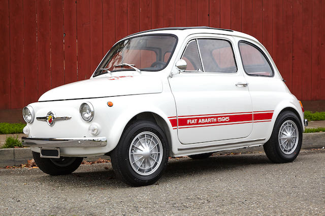 1970 Fiat Abarth 595  Chassis no. 110F 2467823/2512