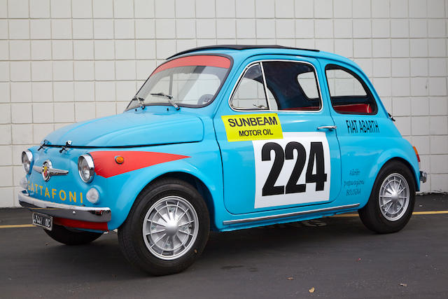 1965 Fiat Abarth 595  Chassis no. 110F 0862866/1624