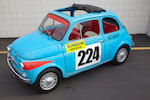 1965 FIAT-Abarth 595  Chassis no. 110F 0862866/1624 Engine no. 110F 000 2747829 ABA205