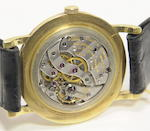 Vacheron Constantin. An 18K gold wristwatchRef: 4667, Case no. 338104, Movement no. 502622, circa 1950