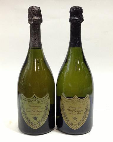 Dom Pérignon Vintage Champagne 1982 (1)<BR />Dom Pérignon Vintage Champagne 2000 (1)