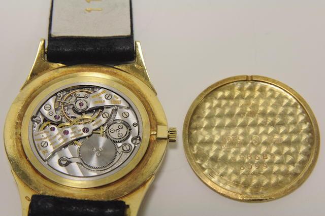 Vacheron & Constantin. A fine 18K yellow gold slim wristwatchRef:6099, Case no. 358688, Movement no. 531622, circa 1957