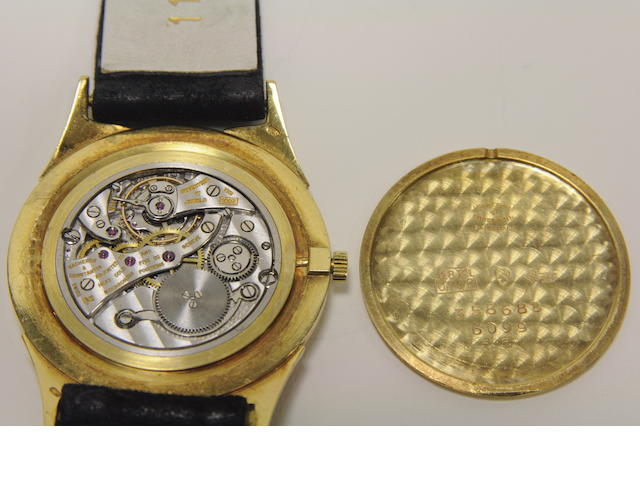 Vacheron & Constantin. A fine 18K yellow gold slim wristwatchRef:6099, Case no. 358688, Movement no. 531622, circa 1957