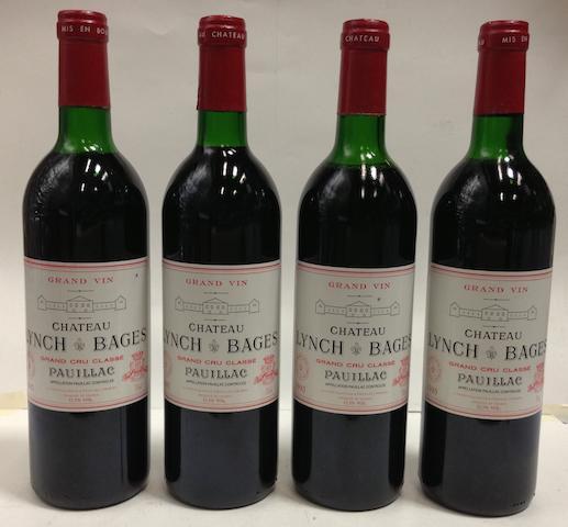 Château Lynch-Bages 1985 (4)