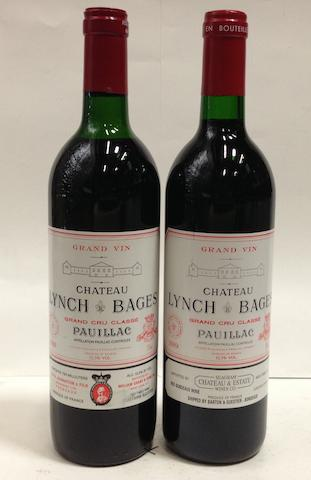 Château Lynch-Bages 1988 (4)<BR />Château Lynch-Bages 1989 (2)