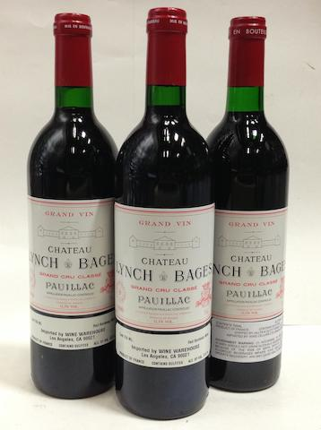 Château Lynch-Bages 1990 (5)