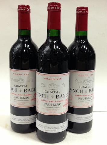 Château Lynch-Bages 2000 (6)