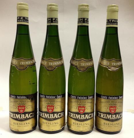 Riesling, Cuvée Frédéric Emile, Trimbach 1988 (4)