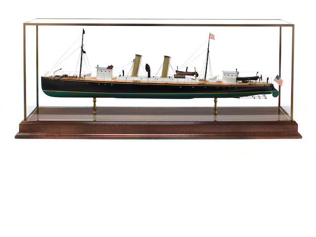 "Hitchcock Steam Yacht ""Tarantula"""