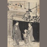 Kubo Shunman (1757-1820)<BR />One woodblock print