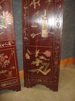 A twelve panel coromandel screen 19th century