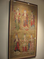 Anonymous (18th century) Fragment of a Buddhist Pantheon painting