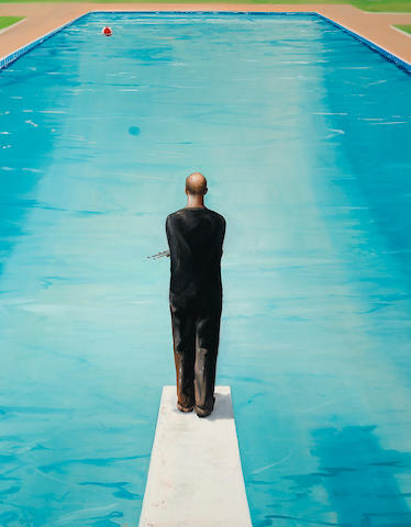 Eric Zener (born 1966) Pool of Inspiration, 2001 48 x 38in (121.9 x 96.5cm) unframed