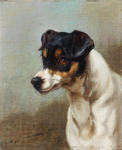 William Henry Hamilton Trood (British, 1860-1899) Queenie 8 11/16 x 7 in. (22 x 18 cm.)