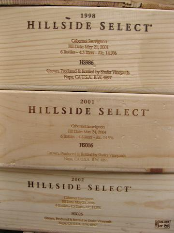 Shafer Cabernet Sauvignon, Hillside Select 1997-2007 (66)